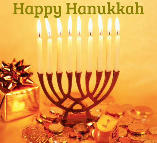 happy chanukah 2018 Wishes for family
