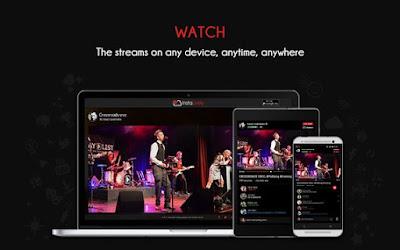 YouTube, Facebook ကေန Lives Video တိုက္ရိုက္ထုတ္လႊင့္ျပသႏုိင္မယ္႔ InstaLively Livestreaming v1.1. Apk