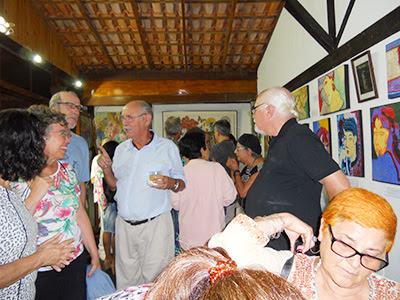 Inauguração da Galeria Telas da Serra