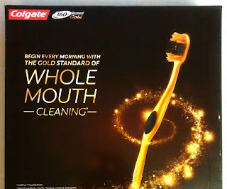 Turn Good Mornings in to Gold Mornings with Colgate 360 Charcoal Gold Toothbrush #Colgate360GoldMorning