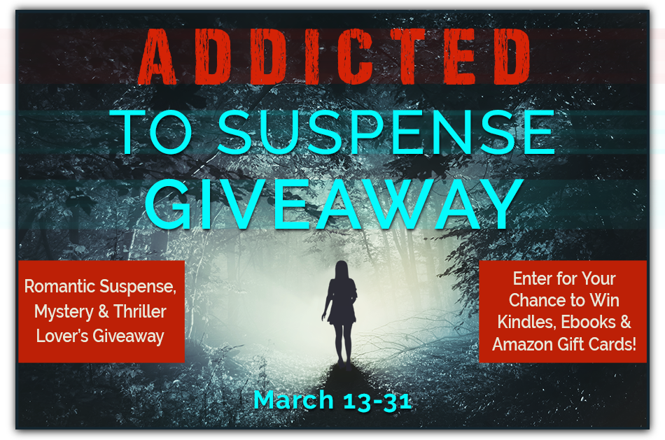Addicted to Suspense Giveaway