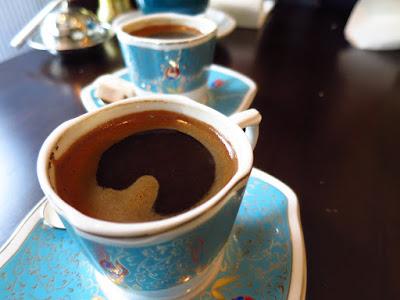 Fat Prince, turkish coffee