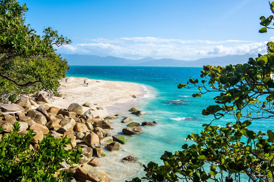 Nudey Beach, Fitzroy Island, QLD - Man Travels 40,000km Around Australia and Brings Back These Stunning Photos