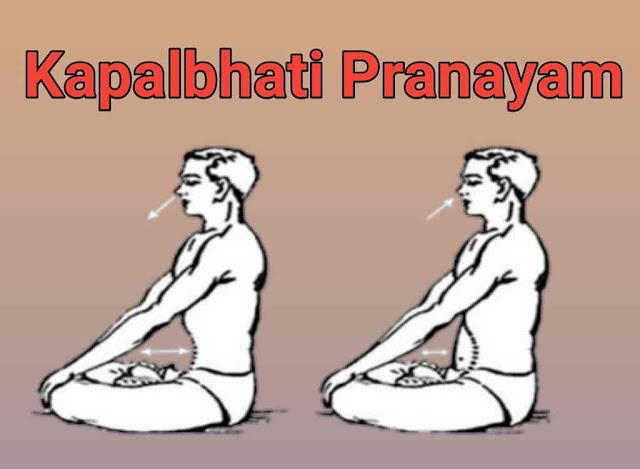 Kapalbhati Pranayam and 12 Best benefits of Kapalbhati Pranayam .