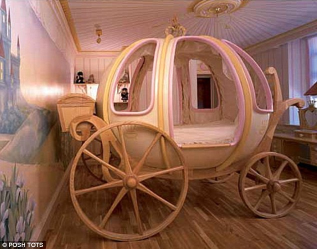Z Shaped High Chair Chairs For Living Room India A Solid Gold Rocking Horse And Swarovski Diamante Encrusted Very Posh Tot This 6ft Fanciful Coach Bed Is Handcrafted In England Of Wood Fibreglass Right Cot Like Carriage That Costs