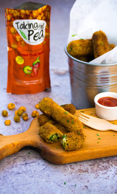 Pea, Potato and Pesto Croquettes