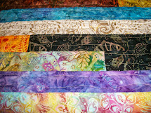 Sew Cook And Travel Splash Of Color Jelly Roll Quilt