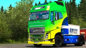 Volvo 2012 re-worked truck