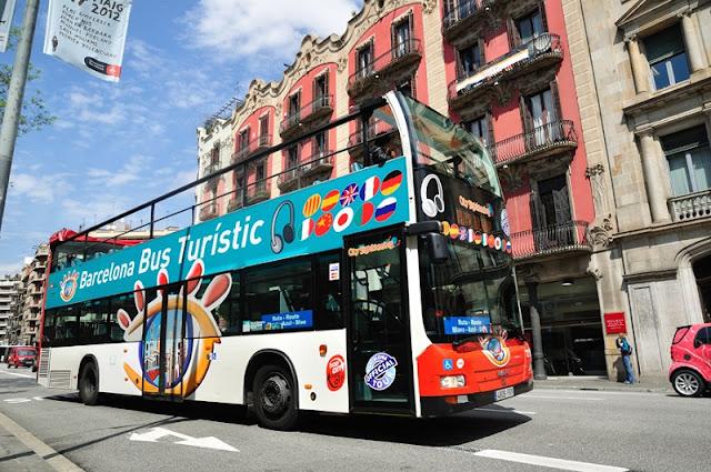 Ônibus turístico da Bus Turístic em Barcelona