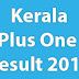 Kerala HSE Plus One Results 2017
