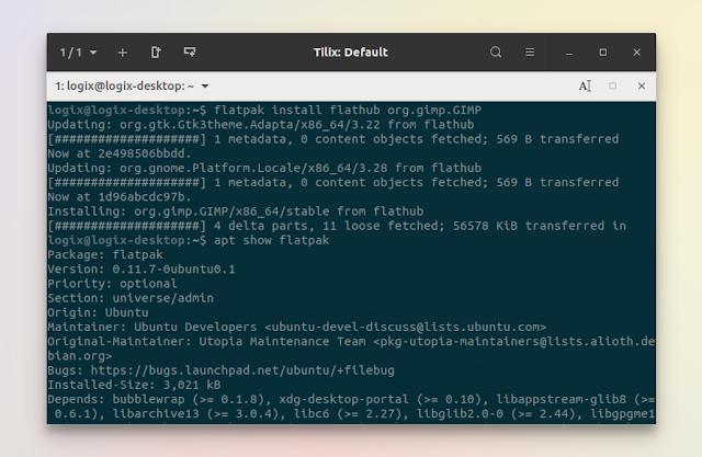 Old Flatpak 0.11.7