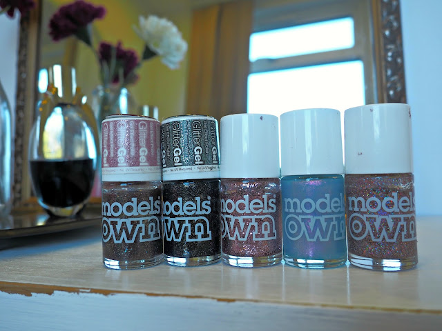 models own glitter collection