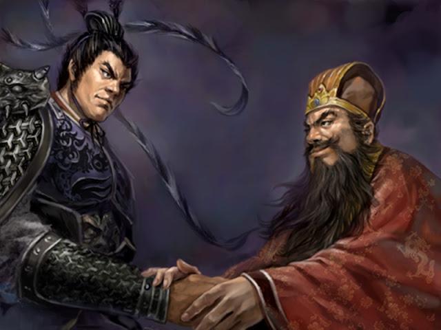 Chapter 3 : In Wenming Garden, Dong Zhuo Denounces Ding Yuan; With Red Hare, Li Su Bribes Lu Bu.