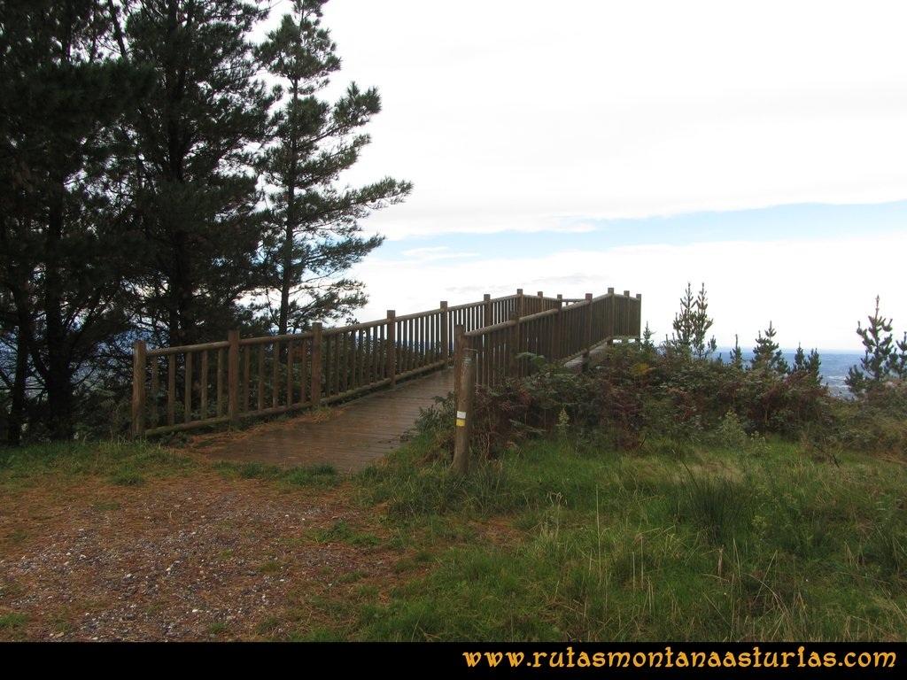Ruta Deva, Gavio Cimero, Fario, Peña Cuatro Jueces: Mirador