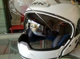 HELM INK MF 1 MODULAR DOUBLE VISOR