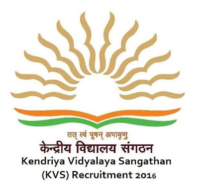 Kendriya Vidyalaya Sunderbani Recruitment 2016