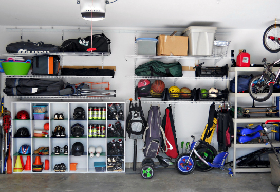 ... Participating In You Need To Find The Storage Space For It. Wire  Shelving, Hanging Bikes And Cubbies For Smaller Equipment Are All Great  Solutions.