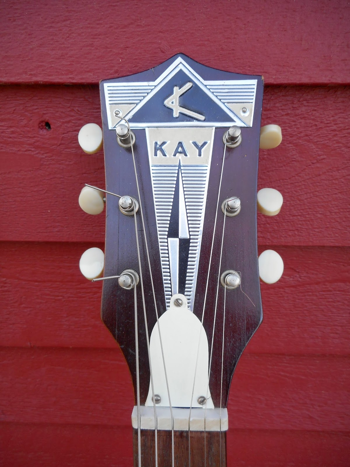 your grandpa 39 s guitar 1960 39 s kay vanguard electric guitar. Black Bedroom Furniture Sets. Home Design Ideas