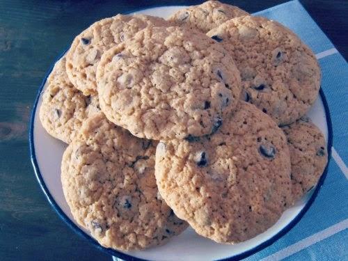 Presentación cookies con chocolate