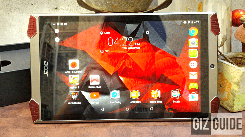 Acer Predator 8 Gaming Tablet Got A HUGE Price Cut, Down To 6999 Pesos!