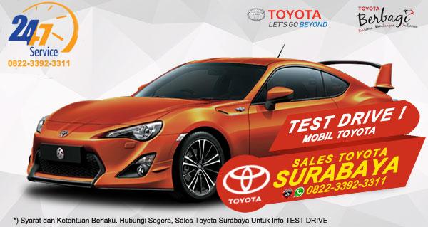 Info Test Drive Toyota FT 86 Surabaya