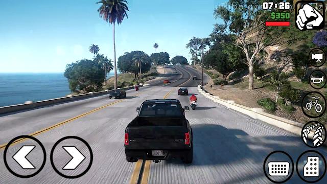 "GTA V LITE ""400MB"" GRAPHIC REALISTIC Mod PACK GTA Sa Lite Para Android"