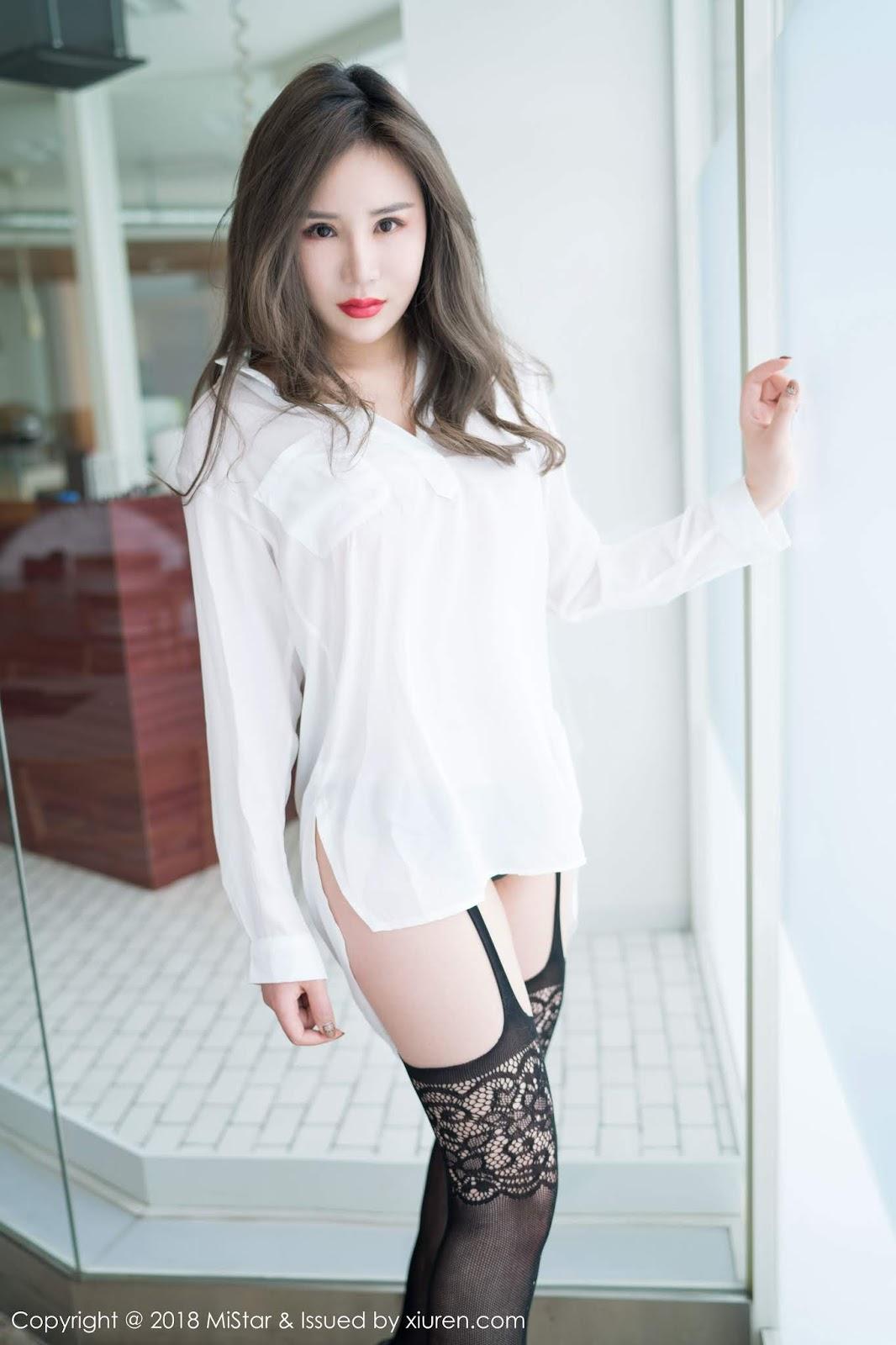 Sexy Asian Nude Model Da Xi in Sexy Stocking - Asian Hot