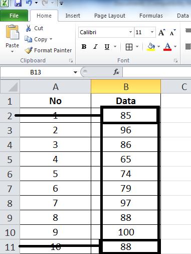 Cara Mencari Median Di Excel : mencari, median, excel, Pustaka, Matematika:, Menentukan, (Rata-rata),, Median,, Modus,, Standar, Deviasi,, Varian,, Grafik, Excell.