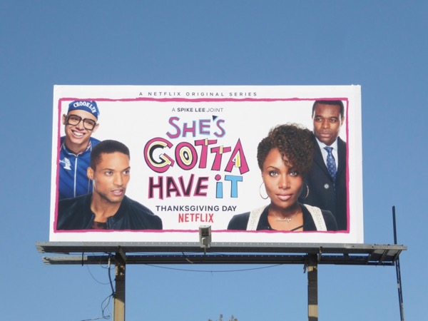 Shes Gotta Have It series premiere billboard