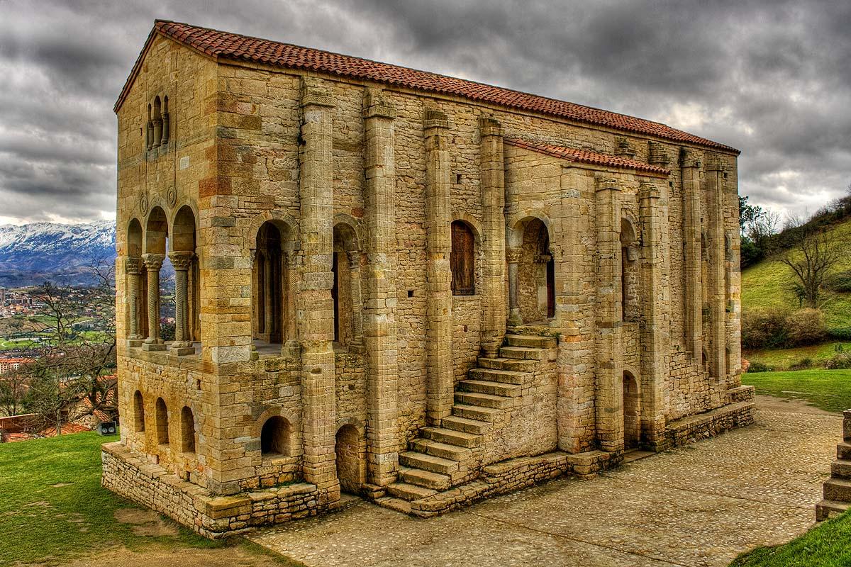 Arte para niños: La iglesia asturiana de Santa María del Naranco