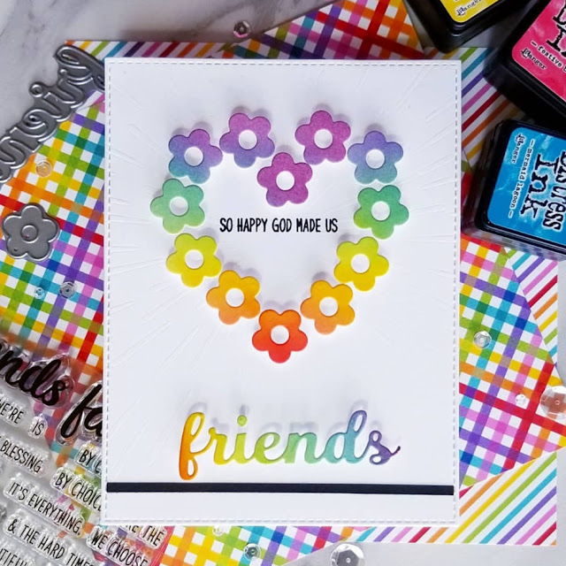 Sunny Studio Stamps: Friends & Family Customer Card Share by Ana A
