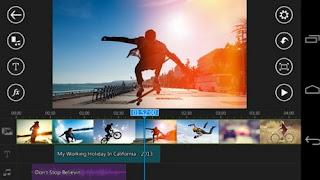 PowerDirector, montez vos vidéos avec votre smartphone