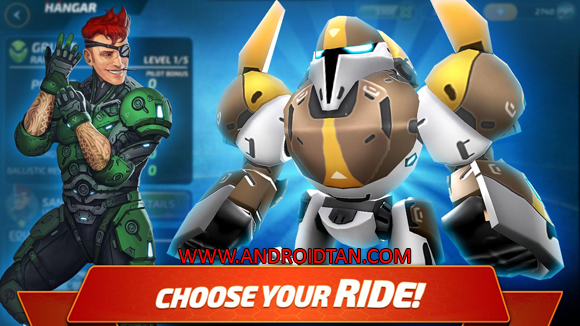 Forge of Titans: Mech Wars Mod Apk Money