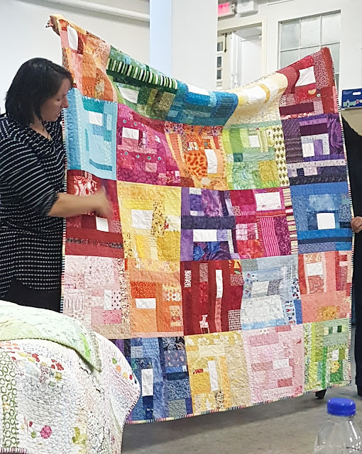 Quilted Curves Workshop & Trunk Show with Cheryl Arkison | Shannon Fraser Designs | Modern Quilting