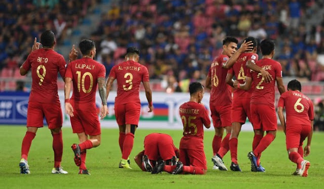Ranking Dunia FIFA 2018, Indonesia Naik ke Peringkat 159