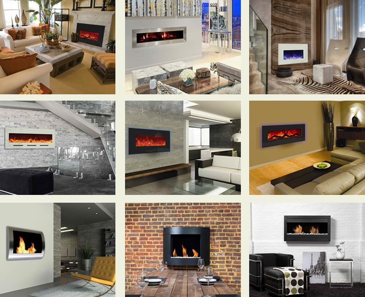 Guide about the Electric, Gas and Solid Fuel Fireplaces