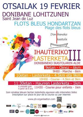 Saint Jean de Luz / Course Ihauteriko lasterketa 2018 PAYS BASQUE