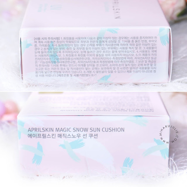 April Skin Magic Snow Sun Cushion SPF50+PA