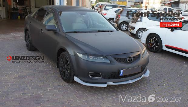 Mazda 6 2002-2007 Front Spoiler Lenzdesign Performance