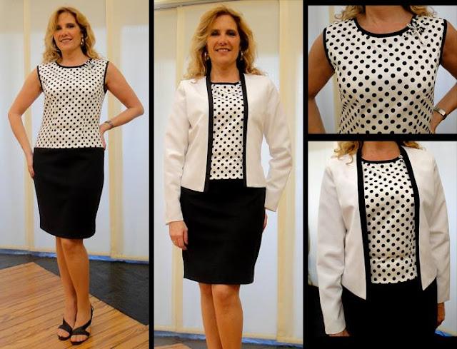 3d94096148949 Elegante ropa urbana primaveral para señoras - Reflejos Femeninos ...