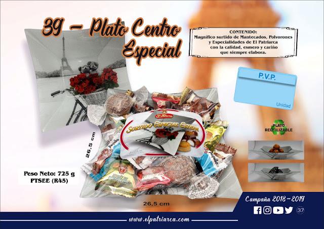 Plato centro París Surtido Especial Estepa El Patriarca 725 g - Comercial H. Martin sa