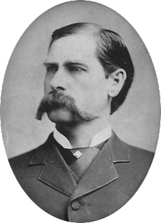 Wyatt Earp, character in Dragon Teeth by Michael Crichton