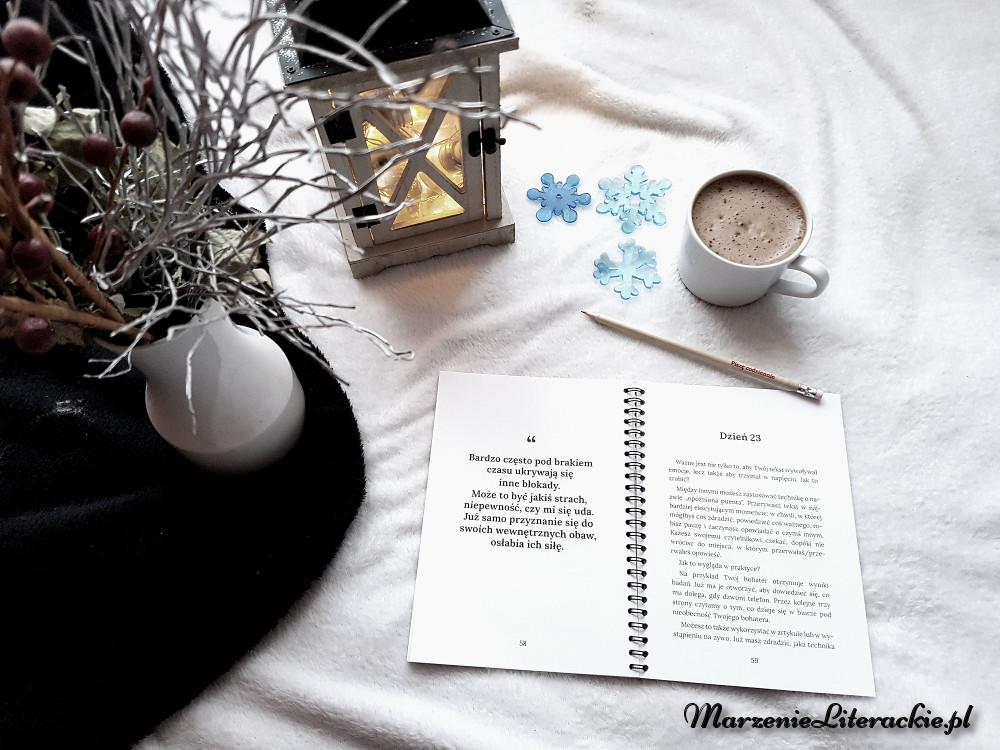 Krystyna Bezubik, Piszę codziennie. 36-dniowe wyzwanie, Recenzja, Marzenie Literackie