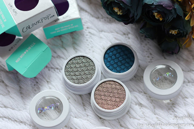 тени для век ColourPop Super Shock Shadow, отзывы