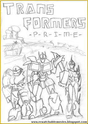 Transformers Prime sketch poster