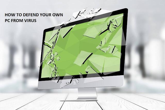 Cara menjaga Laptop dari virus