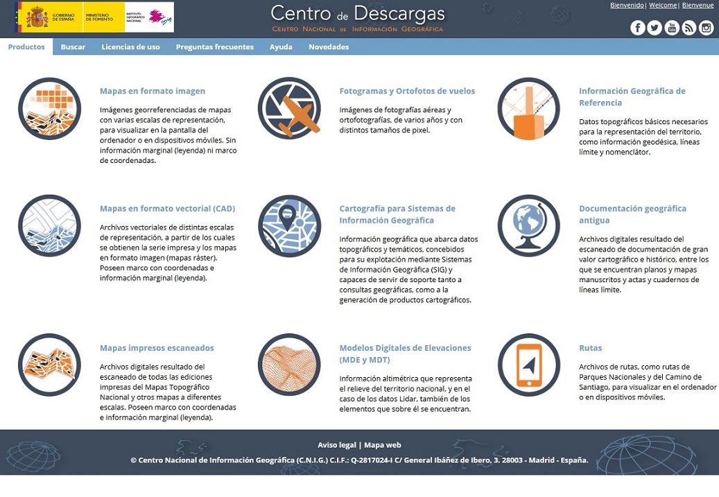 Blog IDEE: Nuevo Centro de Descargas del CNIG (IGN)