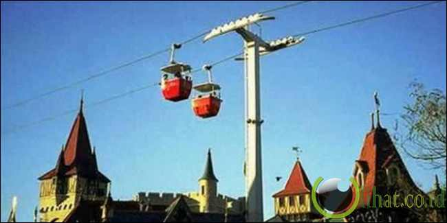 Skyway Disneyland, Amerika