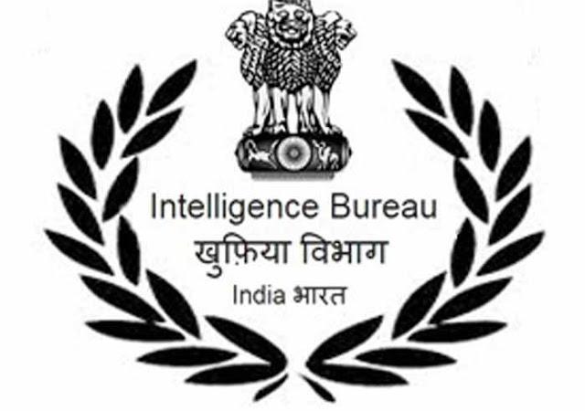 Free Job Alert - Intelligence Bureau Security Asst/ Executive Online Form 2018