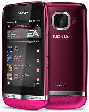 Download Firmware Nokia Asha 311 RM-714 Version 07.36
